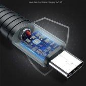 Samsung Galaxy A40 Type-C Usb Hızlı Şarj Data Powerbank Kablo 1 m-7