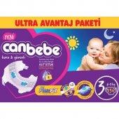 Canbebe Bebek Bezi Ultra Avantaj Paketi 3 Beden 136 Lı
