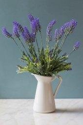Italyan Saksıda Gece Sefası (Mirabilis) Yapay Çiçek
