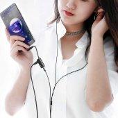 Meizu 16s Pro Type-C to 3.5mm+Type C Kulaklık Çoklayıcı Adaptör L45-4
