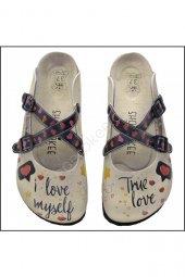 True Love Anatomik Mantar Taban Sabo Ortopedik Terlik Modeli