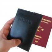 Hakiki Deri Pasaport Cüzdanı 1.sınıf Malzeme Ve İşçilik Günün Fırsatı Passport