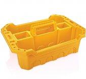 Hipaş Plastik Çok Amaçlı Takım Sepeti Sarı Tk...