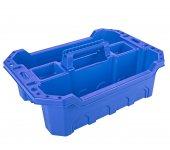 Hipaş Plastik Çok Amaçlı Takım Sepeti Mavi Tk...