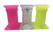 Renkli Plastik Ayak (250 Adet) Yeşil Kırmızı Vişne...