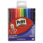 Pritt Keçeli Kalem Seti 12 Renk