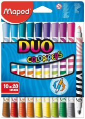Maped Color Peps Duo Keçeli Kalem Seti 10 Renk