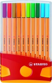 Stabilo Point 88 İnce Uçlu Keçeli Kalem Seti Color...