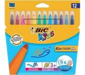 Bic Kids Kid Couleur Xl Ultra Yıkanabilir Kalın Ke...