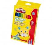 Play Doh 24 Renk Jumbo Üçgen Kuru Boya