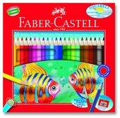 Faber Castell Aquarel Suluboya Kalemi 24 Renk Kart...