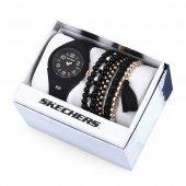 Skechers SR9021 Bayan Set Kol Saati ve Bileklik
