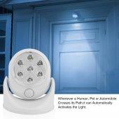 Light Angel Led Işıklı Hareket Sensörlü Oynar Başlı Gece Lambası