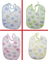 3lü Sıvı Geçirmez Bebek Mama Önlüğü, (3 Adet)