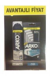Arko Men Traş Seti Köpük + Traş Bıçağı