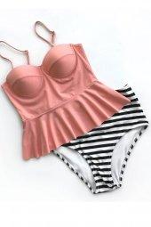 Ewa Angel Yüksek Bel Bikini Takım-3