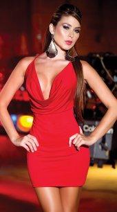 Ewa Sırtı Metal Aksesuarlı Kırmızı Mini Ebise-2