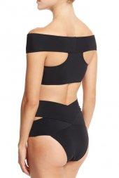 Ewa Angel Siyah Özel Tasarım Bikini Üst-2