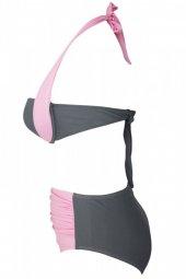 Ewa Angel Renkli Şık Bikini üst-4