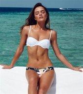 Ewa Angel Renkli Özel Tasarım Bikini Alt