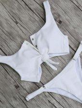 Ewa Angel Beyaz Bikini Alt-2