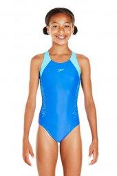 Speedo Boom Splice Muscleback Kız Çocuk Yüzücü...