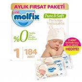 Molfix Pure And Soft Bebek Bezi Yeni Doğan 184...