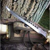 Halmak Beyaz Kurt Model Komando Bıçağı Kasatura...