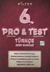 6.sınıf Türkçe Pro Test Soru Bankası Bilfen