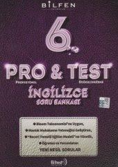 6.sınıf İngilizce Pro Test Soru Bankası Bilfen