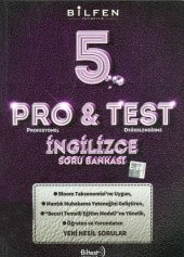 5.sınıf İngilizce Pro Test Soru Bankası Bilfen