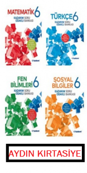 Tudem Yayınları 6. Sınıf 4 Kitap Set