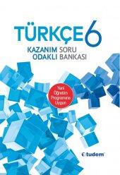 Tudem Yayınları 6.sınıf Türkçe Kazanım Odaklı Soru Bankası