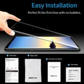 Samsung Note 9 Cam Ekran Koruyucu, ESR 3D Full Coverage Tempered Glass-4