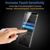 Samsung Note 9 Cam Ekran Koruyucu, ESR 3D Full Coverage Tempered Glass-5
