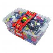 Lego Flexy Tangles 500 Parça Plastik Kutuda