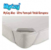 Mycey Alez Ultra Yumuşak 90x200 Cm Tek Kişilik Sıvı Geçirmez