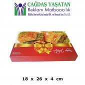 1000 gram Baklava Kutusu ( 200 Adet ) - 086