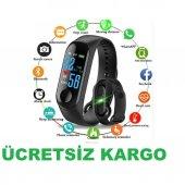 M3 Akıllı Saat Bileklik, Bluetooth Spor Bilekliği, Spor Saati