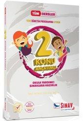 2. Sınıf Tüm Dersler Konu Anlatımlı Sınav Dergisi Yayınları