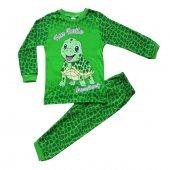 Süpermini Kaplumbağa Figürlü Kız Ve Erkek Çocuk Pijama Takımı