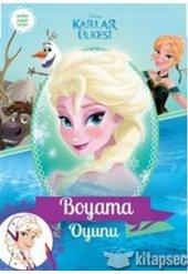 Disney Karlar Ülkesi Boyama Oyunu