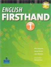 Pearson Englısh Fırsthand 1