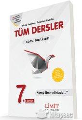Limit 7.sınıf Tüm Dersler Soru Bankası
