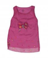 Boncuklu Tüllü Kız Çocuk Elbise