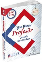 Lider Kpss Eğitim Bilimleri Profesör S.b