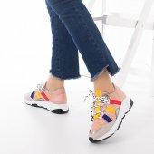 Wilda Kadın Spor Ayakkabı - Bordo-2
