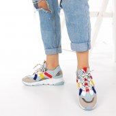Wilda Kadın Spor Ayakkabı - Bordo-3