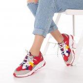 Wilda Kadın Spor Ayakkabı - Bordo-6