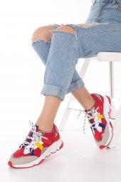 Wilda Kadın Spor Ayakkabı - Bordo-7